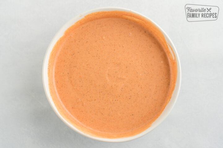 Creamy cajun sauce