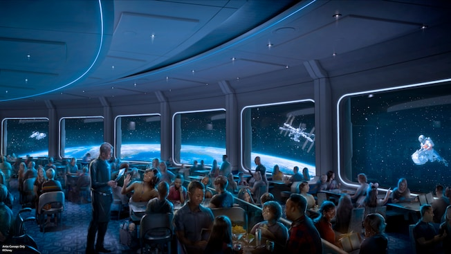 Epcot Space 220 new restaurant coming to Epcot where you can dine in space