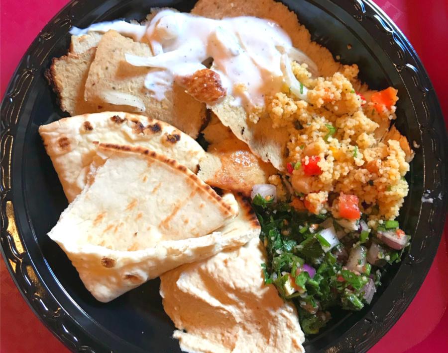 Morrocan platter at Epcot