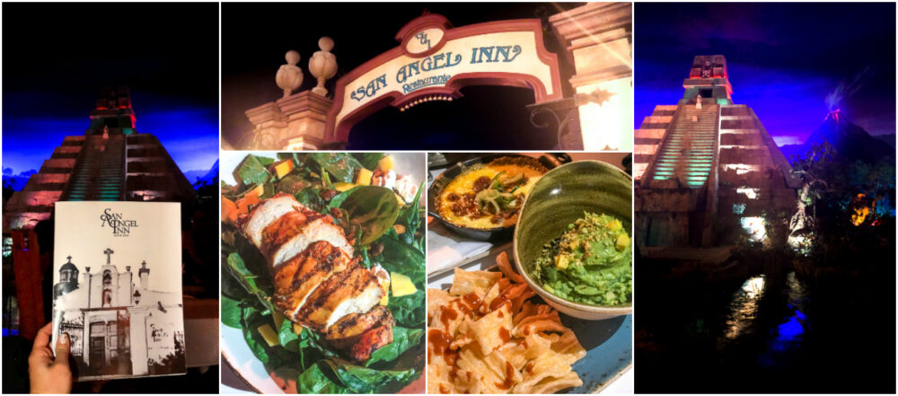 San Angel Inn Menu Items and Decorations in Epcot