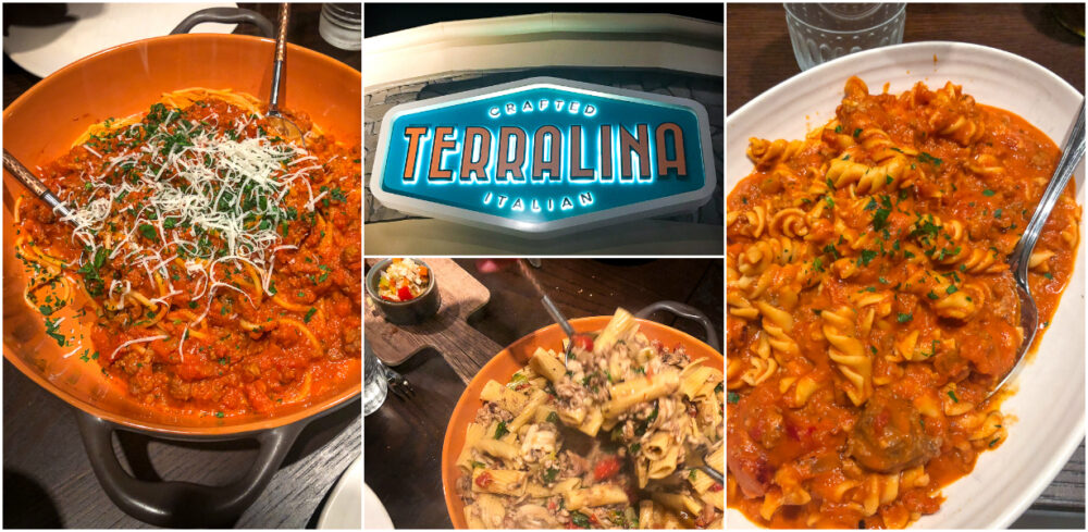 Terralina Crafted Italian Menu Items and Decorations in Disney Springs