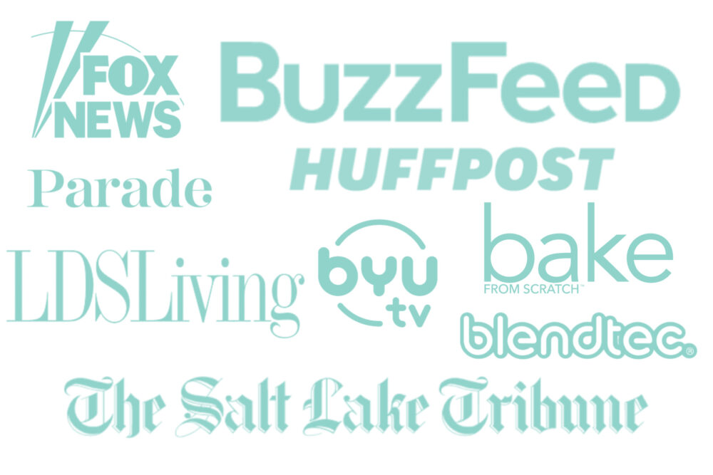 Logos of Media Channels BuzzFeed, Huffpost, etc.