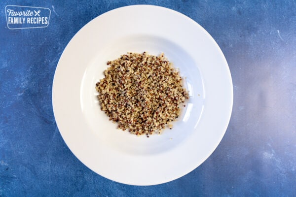 Quinoa in a bowl