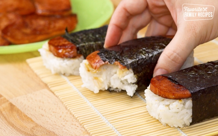 How To Make Spam Musubi Favorite Family Recipes