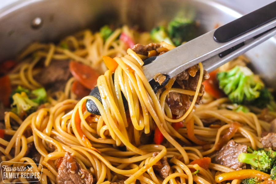 Beef Stir Fry With Noodles Favorite Family Recipes