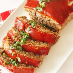 meatloaf on a plate