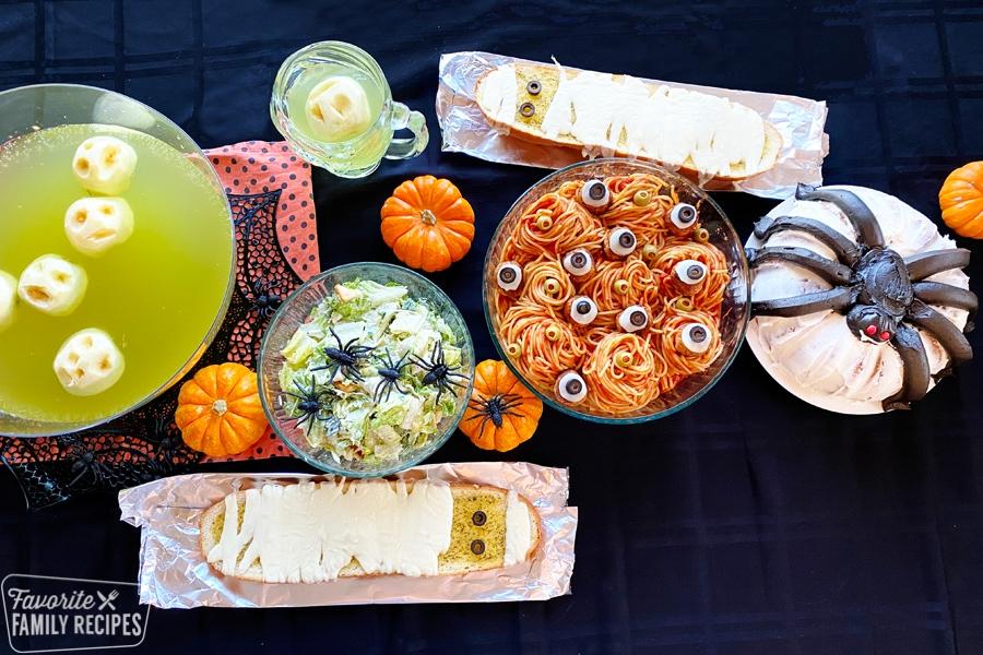 Halloween Dinner Ideas And Menu Plan Favorite Family Recipes