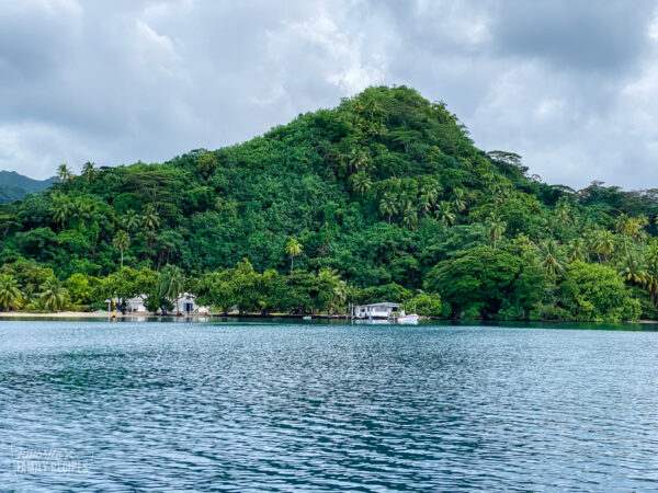 The island of Tahaa, also known as the Vanilla Island