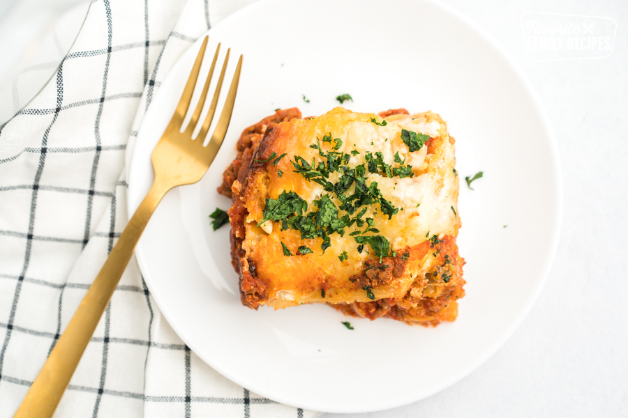 Slow Cooker Lasagna W Uncooked Noodles Favorite Family Recipes
